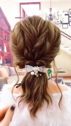Easy Everyday Hairstyles, Easy Hairstyles For Long Hair, Girl Hairstyles, Easy Elegant Hairstyles, Easy Wedding Hairstyles, Curly Hairstyles Tutorial, Hairstyles For Brides, 1800s Hairstyles, Easy Hair Up