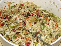 Surówka z kapusty pekińskiej, marchewki i czerwonej papryki - zdjęcie 3 Finger Food, Vinaigrette, Cabbage, Vegetables, Ethnic Recipes, Meat, Easy Meals, Recipies, Salads