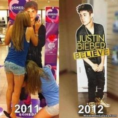 Justin Bieber changed his poster because of these - Funny Pix