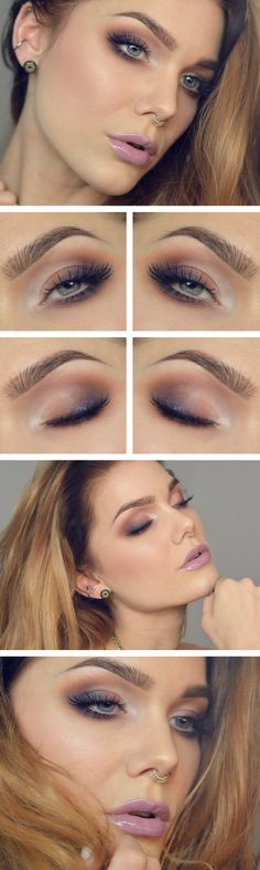 Sunset eyeshadow ...