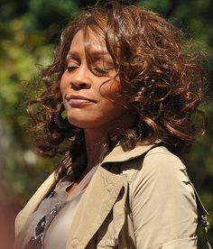Whitney Houston performs her first concert for 'Good Morning America' to promote her comeback album 'I Look to You' in Central Park NYC, September 1st 2009.