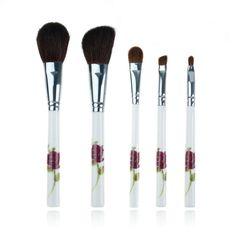 5 pcs China Makeup Brush Set Animal Hair Brushing Brush Professional Cosmetics Makeup Foundation Powder Blush Eyeliner Brushes #Affiliate