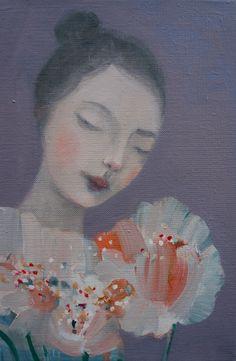 Kristin Vestgard Is oil on canvas 20 x 30 cm £ 1250