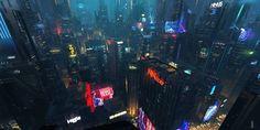 ArtStation - CITYSCAPE , niyas ck