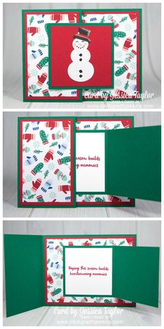 Details about  /Personalize Greeting Cards Die-Cut Snowman Invitations Stationary