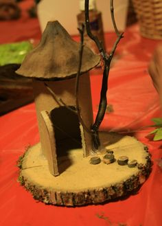 Fairy house fun! Get the kids outside and be inspired!