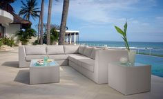 Soft Seating at restaurant exterior