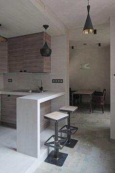 Oak Tube Apartment by Peter Kostelov