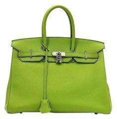 d184e240ad5 Birkin Sale 35cm Vert Anis Togo Green Leather Satchel