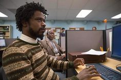 """In the new film """"Sorry to Bother You,"""" the secret to success lies in cloaking your accent. In the new film """"Sorry to Bother You,"""" the secret to success lies in cloaking your accent. Danny Glover, Donald Glover, Michael Shannon, Rian Johnson, Black Comics, Be With You Movie, Culture War, Black Actors, Marriage"""