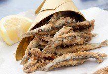 Alici indorate e fritte alla napoletana