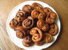 Sourdough Danish Pastries: Chocolate Chip-Cream Cheese Spirals and Cinnamon-Sugar Scrolls