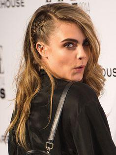 Cara Delevingne Elle Style Awards 2014 hairstyles - Cosmopolitan.co.uk