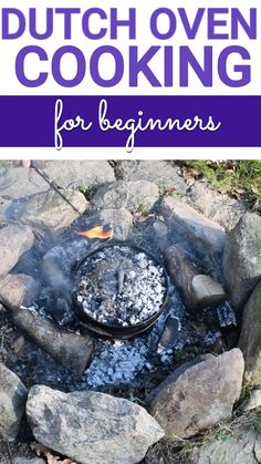 Are you looking to get started with campfire cooking. Maybe get into baking bread over a campfire. Here we have collected all of our favorite tips and tricks to succeed with cooking over a campfire with your dutch oven. Dutch Oven Chicken, Dutch Oven Bread, Oven Chicken Recipes, Cast Iron Dutch Oven, Dutch Ovens, Ditch Oven Recipes, Campfire Dutch Oven Recipes, Dutch Oven Camping, Grill Recipes
