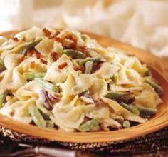 Creamy Green Beans And Pasta  #Food #Drink #Trusper #Tip