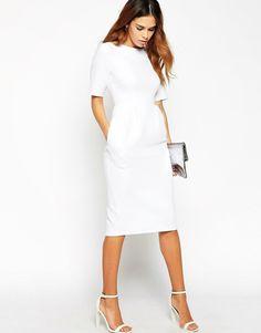 10 Vestidos con estilo a la moda para la oficina 2015 | ¿Como vestir formal para el trabajo?