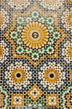 06 Colourful Islamic patterns