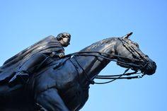 Queen on a high horse by Claude Charbonneau on High Horse, Ottawa, Lion Sculpture, Horses, Queen, Statue, Art, Art Background, Kunst