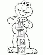 Free Printable Elmo Coloring Pages | H & M Coloring Pages