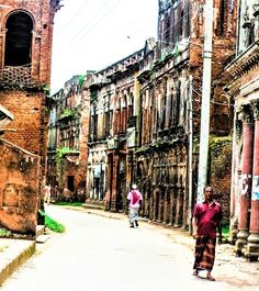Panam City is one of the 100 Destroyed Historic Cities in the World. World Monument Fund enlisted Panam Nagar in the list of 100 worl. Archaeological Discoveries, Archaeological Site, Ruined City, Ancient History, Geology, Archaeology, Asia, Corner, Street View