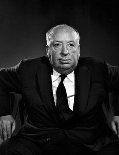 Alfred Hitchcock -- by Yousuf Karsh, CC (Armenian: Յուսուֆ Քարշ; December 23, 1908 – July 13, 2002) an Armenian-Canadian photographer, and one of the most famous and accomplished portrait photographers of all time.