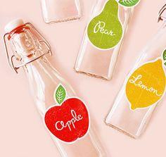 Des étiquettes à imprimer pour vos bouteilles