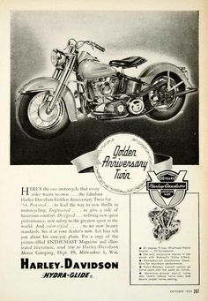 Sept. 1953 Enthusiast directly from Harley