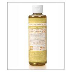 Nada huele tan fresco como el aroma del aceite cítrico orgánico del Jabon Liquido Natural de Castilla de Dr Bronner Citrico Naranja.   http://belleza.tutunca.es/jabon-liquido-natural-de-castilla-dr-bronner-citrico-naranja-236ml