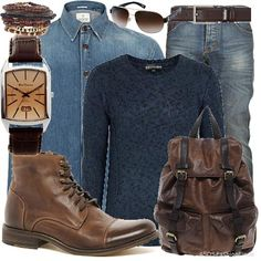 That's ma' man | Men's Outfit | ASOS Fashion Finder (made by me) #moda #trend #outfit #uomo #fall