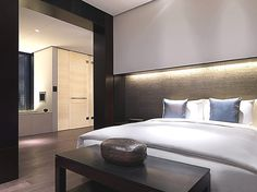 The lovely Puli Hotel and Spa in Shanghai, China