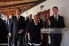 SUBOTICA, SERBIA - JUNE 20: Croatian President Kolinda... #donjiprolozac: SUBOTICA, SERBIA - JUNE 20: Croatian President… #donjiprolozac