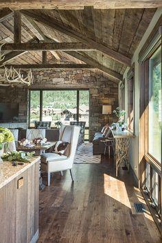 Luxury Cabin Vacation Rental in Teton Village, WY - Four Pines 07