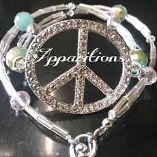 """#Apparitions """"Peace"""" Wrap Bracelet"""