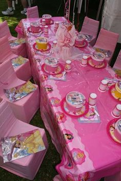 Girls Party Themes | Disney Princess
