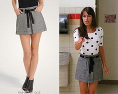 Forever 21 Pleat Top Linen Skirt - No longer available Worn with:Ryan Ryan necklace,H&M top