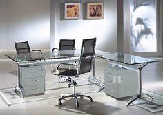 images about Office Ideas on Pinterest   Glass Office Desk, Glass Desk