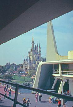 Vintage Disney Parks Tomorrowland Magic Kingdom (Late 1970's)?