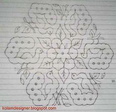 Easy Rangoli Patterns, Easy Rangoli Designs Diwali, Rangoli Designs Flower, Rangoli Borders, Rangoli Border Designs, Small Rangoli Design, Rangoli Ideas, Rangoli Designs With Dots, Rangoli Designs Images