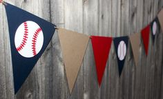 Baseball Birthday Garland Baseball Baby Shower Party