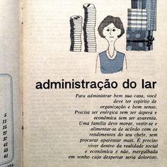 administração do lar #vintage #book
