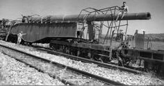 "World War II Memories : This time, a very big gun... Captured piece, ""Anzio Annie"" the rail gun."