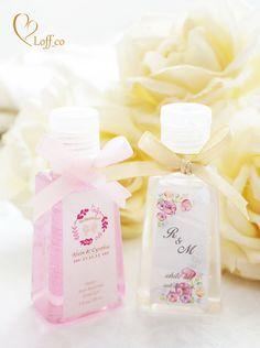 Anti-Bacterial Hand Gel by Loff_co Luxury Wedding Souvenir - 003