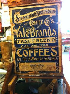 Coffee brand badge. [via allanpeters.com]