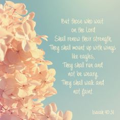 Isaiah 40.31 or Custom Bible verse 8x8 print  But those who wait on the Lord Shall renew their strength; They shall mount up with wings like eagles, They shall run and not be weary, They shall walk and not faint.