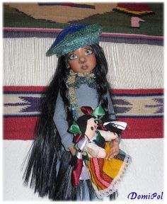 Kaye Wiggs - Nyssa & Elora-Patricia present  hat by DomiPol, via Flickr