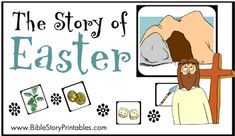Easter Resurrection Game free printable easter story game!! so cute fun and learning about Jesus  LOVE IT!
