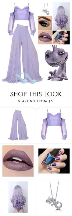 """Disney Villains: Randall"" by annacastrolima ❤ liked on Polyvore featuring INC International Concepts, Elie Saab and BERRICLE"