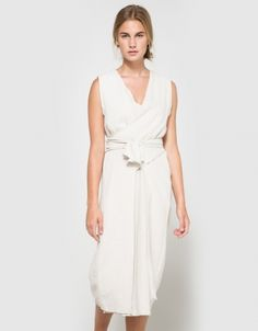 Tie Dress in Sand