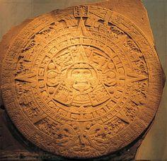 Piedra del Sol. México D.F., Museo Nacional de Antropología. Arts Ed, Sun Moon, Personalized Items, History, Architecture, Image, Sun, Museums, Rock