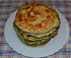 Кулинария Мастер-класс Рецепт кулинарный Простые лепёшки с зелёным луком и яйцом Продукты пищевые фото 1